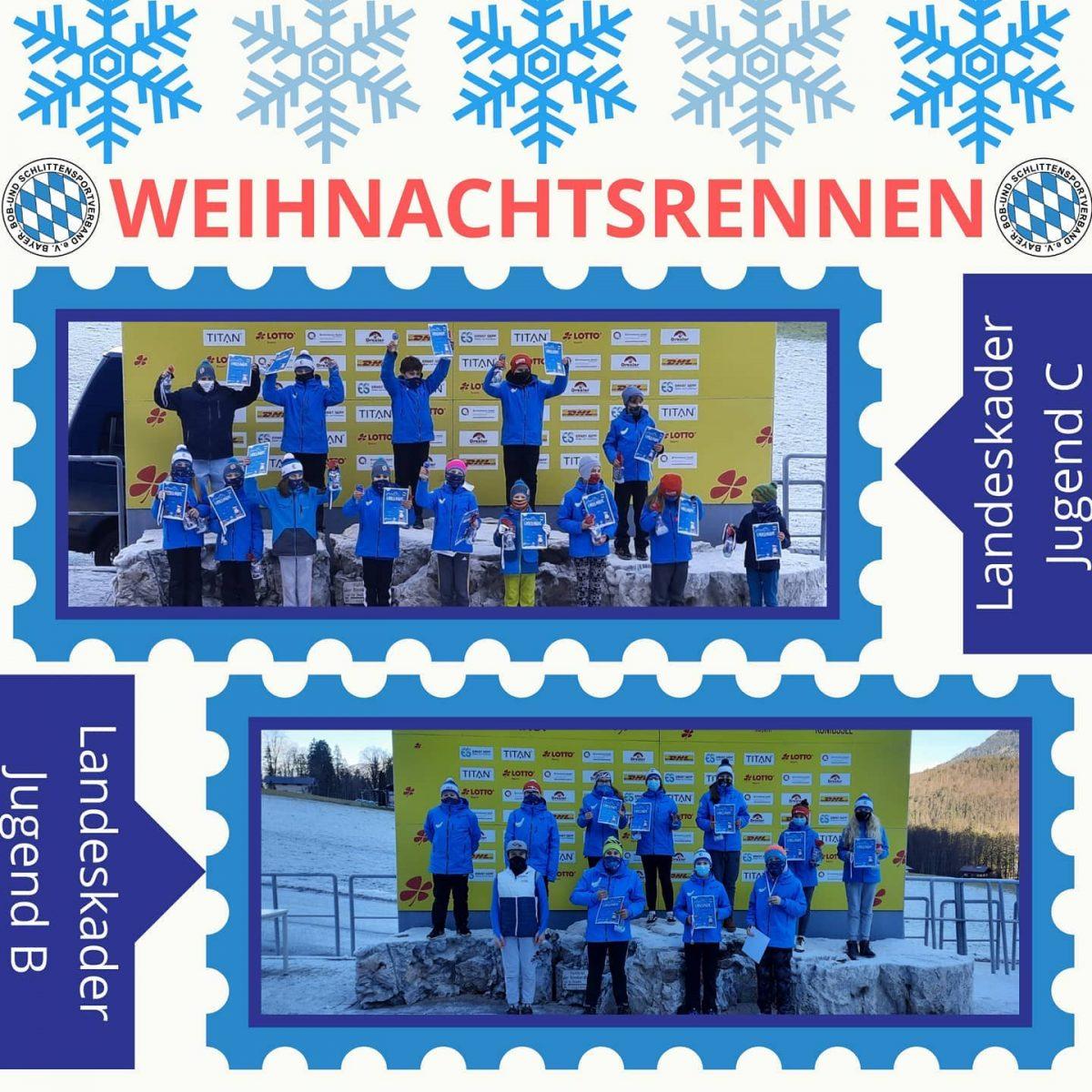 Weihnachtsrennen – 20. Dezember 2020 – Lotto Bayern Eisarena Königssee